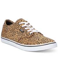 Vans Women's Atwood Low Lace Up Sneakers Women's Shoes Cheetah