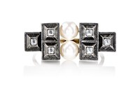 Lanvin Women's Embellished Geometric Ring No Color