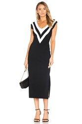Rag And Bone Daphne Sweater Dress Black And White