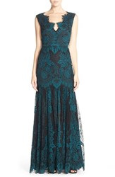 Women's Erin Erin Fetherston 'Joanna' Lace Fit And Flare Gown