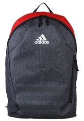 Adidas Performance Ace Rucksack Dark Grey Heather Red White