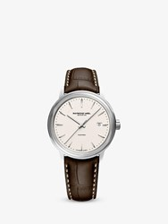Raymond Weil 2237 Stc 30011 'S Maestro Leather Strap Watch Brown Neutral