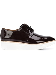 Derek Lam 10 Crosby 'Gordon' Oxford Shoes Black