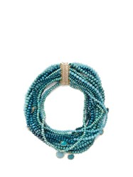 Rosantica By Michela Panero Inganno Multi Strand Necklace Blue