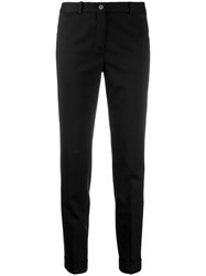 Fabiana Filippi Tapered Tailored Trousers Black