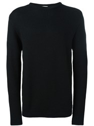 Stephan Schneider Ribbed Crew Neck Jumper Black
