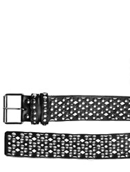 Faith Connexion Studded Leather Belt