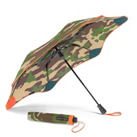 Blunt Umbrellas Xs Metro Auto Folding Umbrella Urban Camo Orange