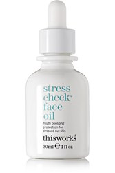 This Works Stress Check Face Oil Colorless