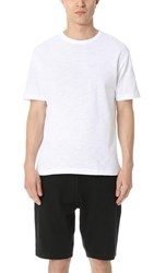 Sunspel Boxy Fit Tee White