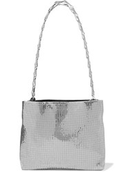 Paco Rabanne Pixel 1960 Chainmail Shoulder Bag Silver