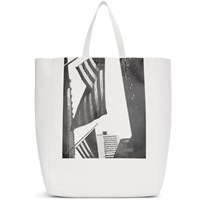 Calvin Klein 205W39nyc White Soft Andy Warhol Tote