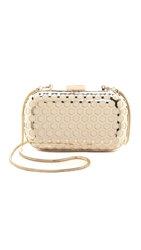 Inge Christopher Palermo Clutch Ivory