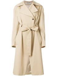 Aalto Belted Trench Coat Nude And Neutrals