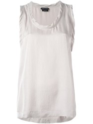 Tom Ford Flared Tank Top Nude Neutrals