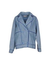 Paul And Joe Suits And Jackets Blazers Women Pastel Blue