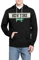 Men's 47 Brand 'New York Jets Playmaker' Graphic Hoodie