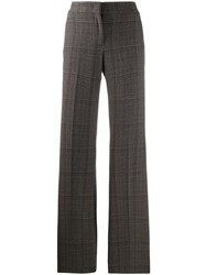 Piazza Sempione Flared Trousers Brown