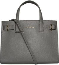 Kurt Geiger London Saffiano Leather Tote Grey Other