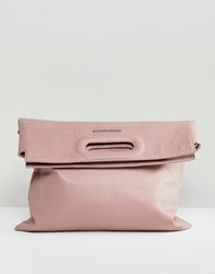 Silvian Heach Slouch Over Across Body Bag Pink