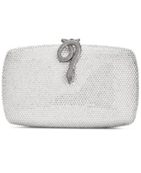 Inc International Concepts Emileh Clutch Created For Macy's Silver