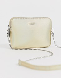 Ted Baker Lauriie Camera Cross Body Bag Silver