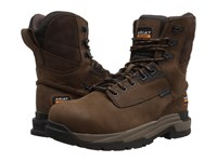 Ariat Mastergrip 8 H2o Ct Oily Distressed Brown Men's Work Lace Up Boots Tan
