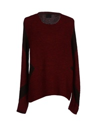 Relive Sweaters Maroon