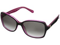 Kate Spade Ayleen S Black Pink Gray Gradient Lens Fashion Sunglasses