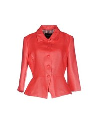 Emporio Armani Suits And Jackets Blazers Women Coral