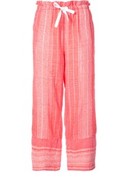 Lemlem Relaxed Fit Pants Red