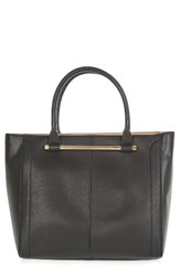 Topshop Halo Bar Handle Faux Leather Tote