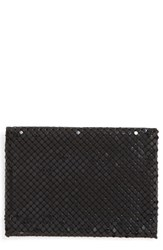 Whiting And Davis Women's Faux Leather Mesh Card Case