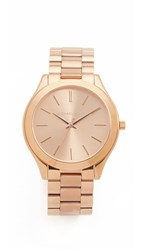 Michael Kors Slim Runway Watch Rose Gold