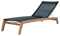 Barlow Tyrie Horizon Sun Lounger Charcoal 500 None Black