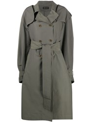 Mr And Mrs Italy Belted Trench Coat 60