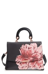 Ted Baker London Tranquility Lady Bag Top Handle Satchel Black