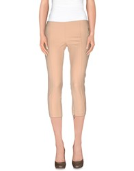 Elisabetta Franchi 24 Ore Trousers 3 4 Length Trousers Women Sand