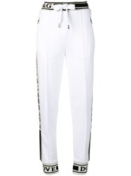 Dolce And Gabbana Basic Track Trousers White