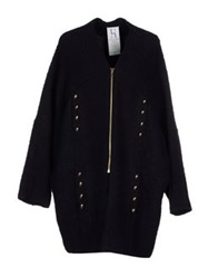 Uniqueness Full Length Jackets Dark Blue