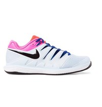 Nike Tennis Air Zoom Vapor X Rubber And Mesh Tennis Sneakers White