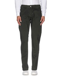 Pt05 Trousers Casual Trousers Men Dark Green
