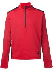 Aztech Mountain 'Team Aztech' Fleece Sweater Red