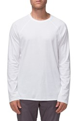 Tavik Men's 'Covert Ii' Raglan Long Sleeve T Shirt White