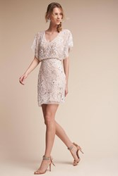 Anthropologie Biltmore Wedding Guest Dress Cream