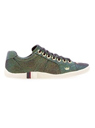 Osklen Glittered Sneakers Green