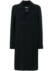 Yang Li Classic Button Down Coat Black