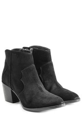Zadig And Voltaire Suede Ankle Boots Black