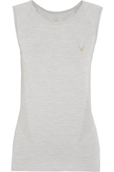 Lucas Hugh Core Technical Stretch Jersey Tank Gray