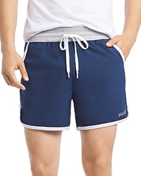 2Xist 2 X Ist Accelerate Tech Drawstring Shorts Navy White